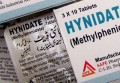 Hynidate Methylphenidate 10mg by Safe pharma x 500 Tablets