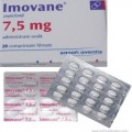 Imovane Zopiclone 7.5mg by Sanofi Aventis x 25 Strip