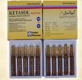 Ketasol HCL 100mg 2ml by Indus Pharma x 5 Amps